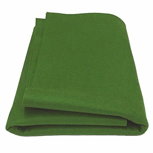 - 100% Merino Wool Craft Felt - Fern (Yard)