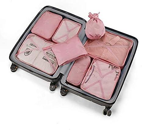 Bolsa de colección de Viajes 8 Piezas Conjunto Zapatos de Ropa Lavado clasificación Bolsa de colección Conjunto O Polvo Nuevo