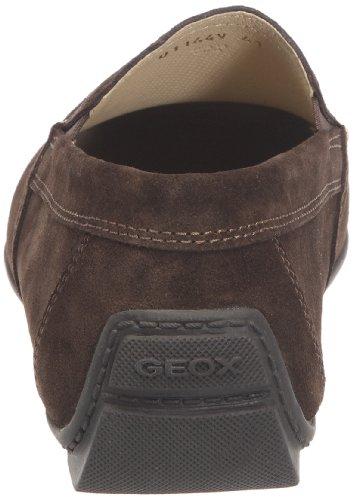 Geox Uomo Moner, Mocasines para Hombre Marrón (Coffee C6009)