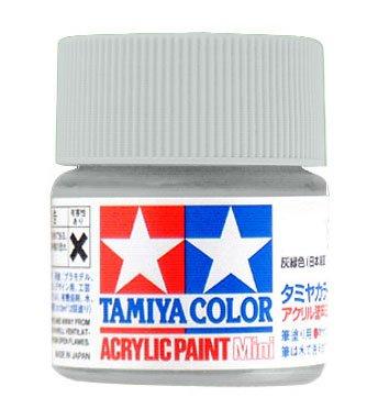 (Tamiya Flat Acrylic Paint Mini 10ml Royal Light Grey XF80)