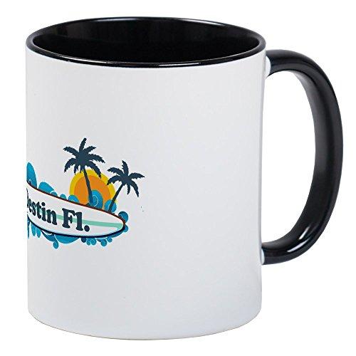 CafePress Destin Florida - Surf Design. Mug Unique Coffee Mug, Coffee Cup
