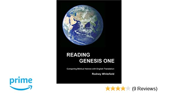 Reading genesis one rodney whitefield 9780972878203 amazon books reheart Gallery