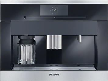 Miele CVA 6805 Integrado Totalmente automática Máquina espresso 2.3L Negro - Cafetera (Integrado, Máquina espresso, 2,3 L, Granos de café, Molinillo integrado, Negro): Amazon.es: Hogar