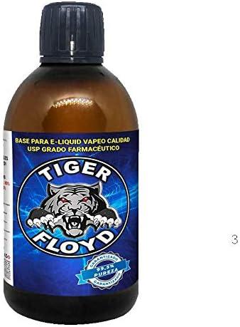 Base Vapeo - 100% GLICERINA VEGETAL (VG)   500 ML   Marca: Tiger Floyd   Sin Nicotina: 0MG   Calidad USP - Grado Farmacéutico - alquimia Pureza ...