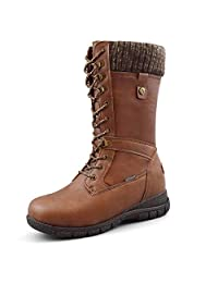 Comfy Moda Women's Waterproof Cold-Weather Snow Boots Storm