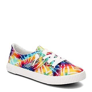 Blowfish Malibu womens Fruit Sneaker, Rainbow Tie Dye, 7.5 US