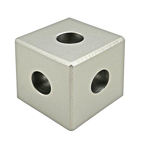 80/20 Inc., 4442, 15 Series, Square Tri-Corner Connector (Connector Corner Square)