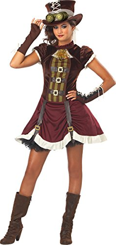 Steampunk Fancy Dress Costumes (California Costumes Steampunk Girl Tween Costume, X-Large)
