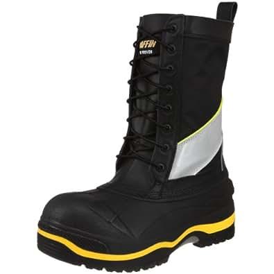 Baffin Men's Constructor Work Boot,Black/Hi/Viz,5 M US