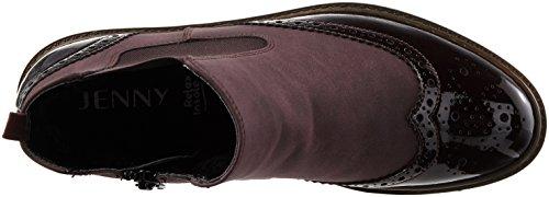 Jenny Damen Portland-St Chelsea Boots Rot (Bordo)