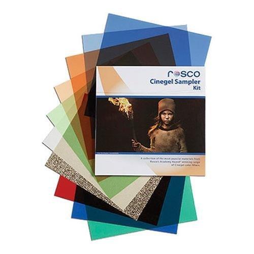 Rosco Cinegel Sampler Filter Kit, 12'' x 12'' Sheets by Rosco