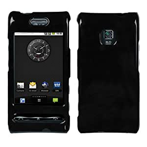 Solid Black Phone Protector Faceplate Cover For LG GT540(Optimus)