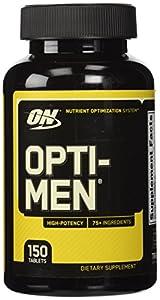 Optimum Nutrition Opti-men Multivitamins, 150 Tablets