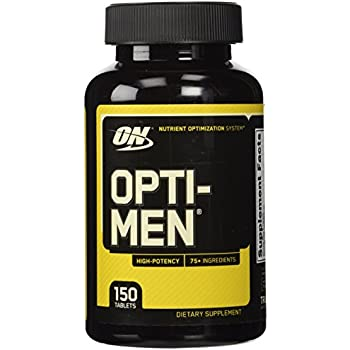 Amazon Com Optimum Nutrition Opti Men Daily Multivitamin