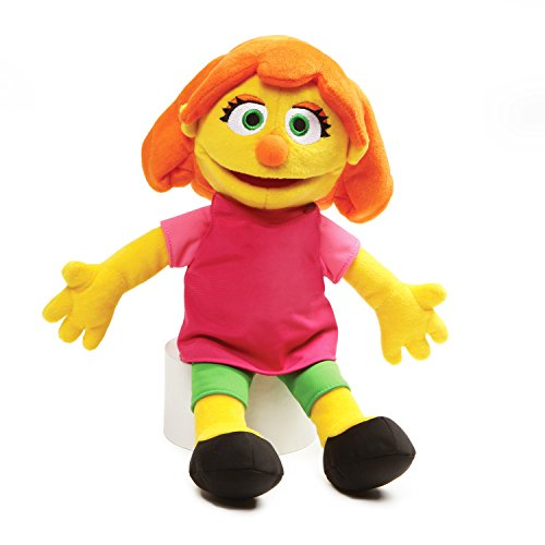 GUND 4060449 Sesame Street Julia Stuffed Plush, 14