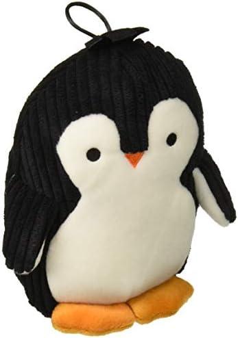 TrustyPup Penquin Plush Dog ToySilent Squeaker Black and White Medium Model Number: 71136-99997-012
