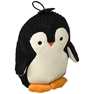 TrustyPup Penquin Plush Dog Toy with Silent Squeaker