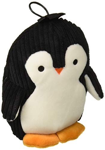 TrustyPup Penquin Plush Dog Toy with Silent Squeaker (Large Squeak Toy)