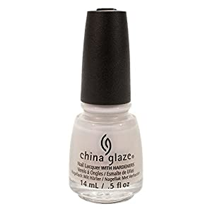 China Glaze Snow Way Nail Lacquer, 0.5 Ounce