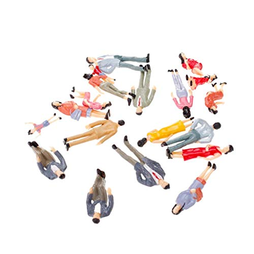 Domccy 20pcs G Scale 1:25 Mix Painted Model People for sale  Delivered anywhere in USA