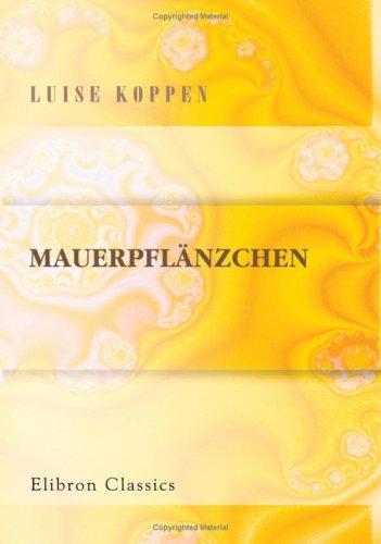 Mauerpflänzchen (German Edition) ebook