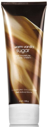 Bath & Body Works Signature Collection Warm Vanilla Sugar Triple Moisture Body Cream 8 oz (226 g)