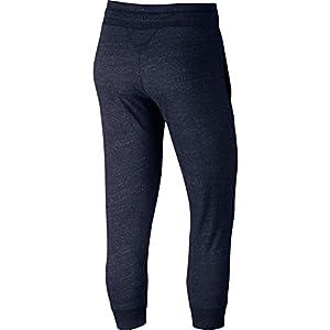 NIKE Women's Gym Vintage Capri Sweatpants Navy 883723 451 (XL)