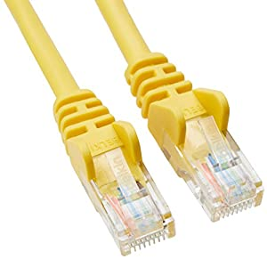 Belkin CAT5E RJ-45M to RJ-45M 30ft Patch Cable Yellow ( A3L791-30-YLW-S ) by Belkin International, Inc