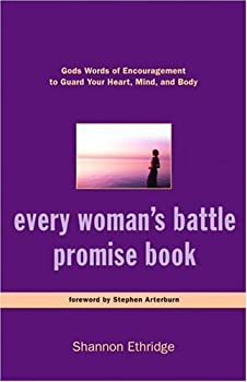 Every Woman's Battle Promise Book: God's Words of Encouragement to Guard Your Heart, Mind, and Body (The Every Man Series) 140007004X Book Cover