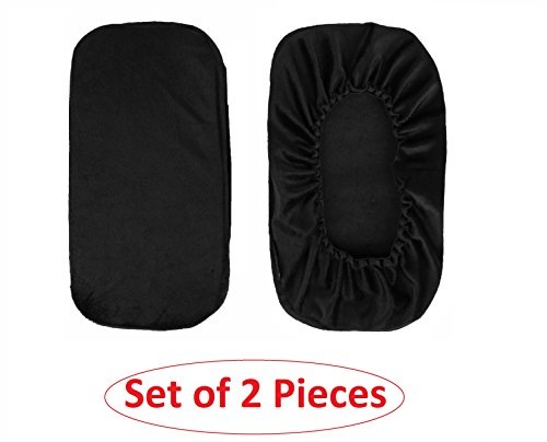 Ziraki Memory Foam Cover for Chair Armrests Pillow - Office Desk Armrest Cushion Pad - Set Of 2 Pieces