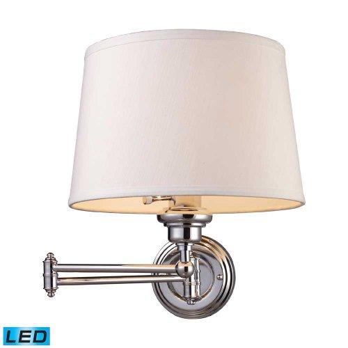 ELK 11210/1-LED, Westbrook Swing Arm Wall Sconce Lighting, 1 Light LED, Polished - Westbrook Stores Outlet