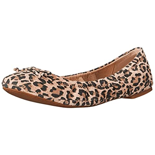 Leopard Print Shoes Flats Women