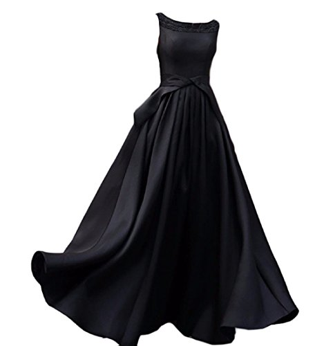 Pure Women Sleeveless Comfy Dress Black Fit Evening Ladies Color Dresses vTRBqwIUR
