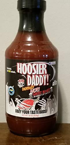 Hoosier Daddy BBQ Sauce Ghost Roast 16oz (Best Bbq Sauce 2019)