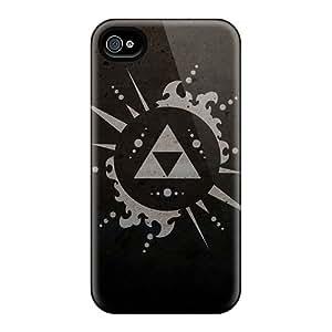Fashion Tpu Case For Iphone 4/4s- Zelda Defender Case Cover
