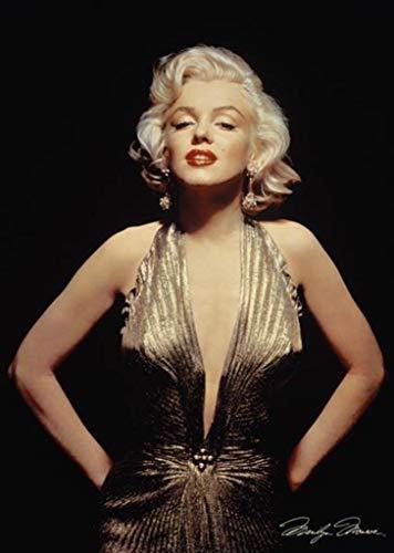Marilyn Monroe 24x36 Poster Gold Dress