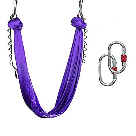 Amazon.com : Aoile Yoga Swing Aerial Yoga Hammock/Trapeze ...