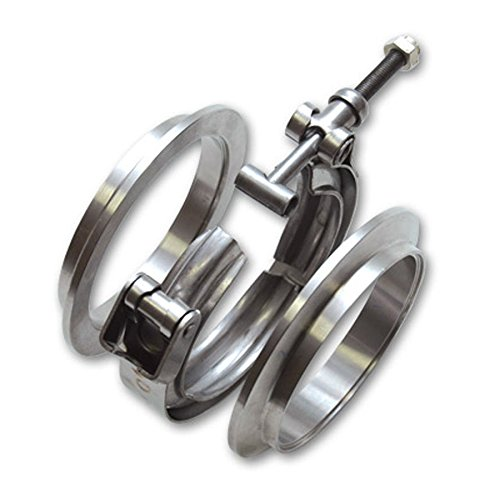 HFS (R) Stainless Steel 304 Quick Release V-Band Turbo Downpipe Clamp (3.5IN)