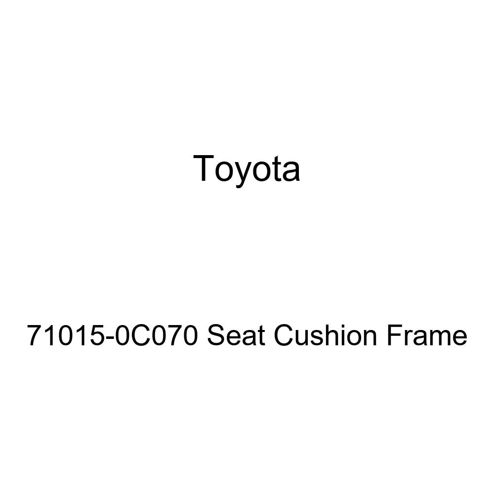 TOYOTA Genuine 71015-0C070 Seat Cushion Frame