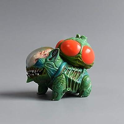 KELAKE Alien Action Figure Bulbasaur Figure Statues Model Doll Bulbasaur Purple