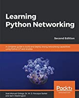 Learning Python Networking, 2nd Edition Front Cover