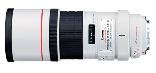 Canon EF 300mm f/4L IS USM Telephoto Fixed Lens for Canon SLR Cameras