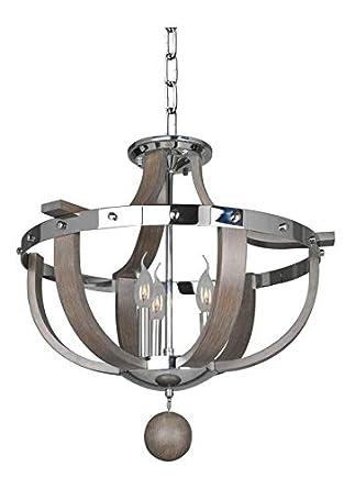 Amazon.com: Sharlow - Lámpara de techo (3 luces ...