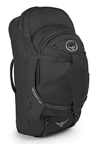 Osprey Packs Farpoint 55 Travel Backpack, Volcanic Grey, Medium/Large