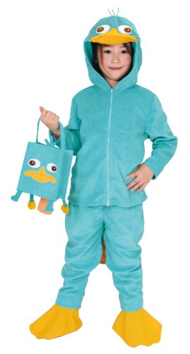 Phineas And Ferb Costumes For Kids (Phineas and Ferb Costume - Perry Child Costume - Medium)