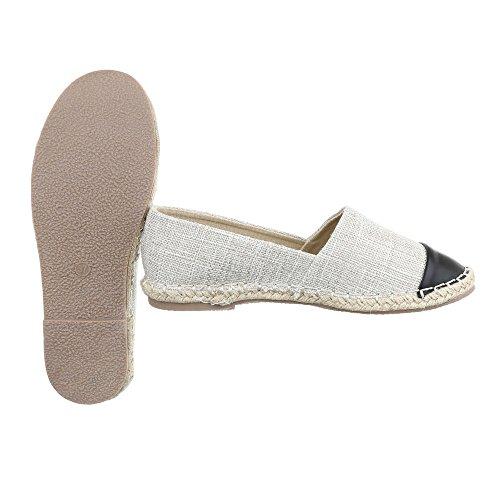 Ital-Design - Zapatillas de casa Mujer Beige CC8586