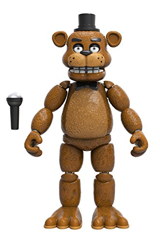 5 Vinyl Figure (Funko Five Nights at Freddy's Articulated Freddy Action Figure, 5