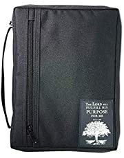 The The Purpose Driven Life Patch Black XL Book and Bible Cover