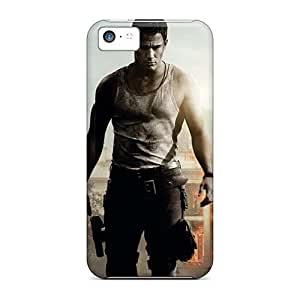Shockproof Hard Cell-phone Cases For Iphone 5c (iix15882ALkT) Support Personal Customs Lifelike The Croods Image