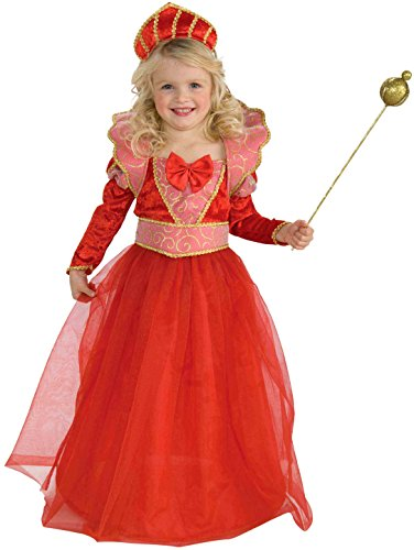 Forum Novelties Ruby Queen Costume, Toddler Size